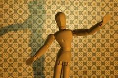 Conceptual figurine Royalty Free Stock Image