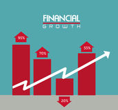 Conceptual financiero Image Fotografía de archivo