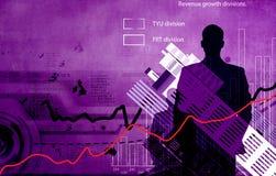 Conceptual financiero Image Fotos de archivo