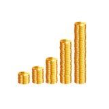 Conceptual financiero Image Vector Foto de archivo