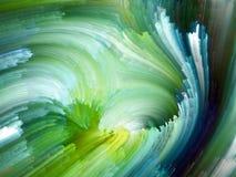 Conceptual Fractal Paint Stock Photography