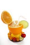Conceptual Fruit cocktail Stock Images