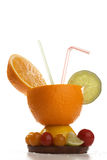 Conceptual Fruit cocktail Royalty Free Stock Images