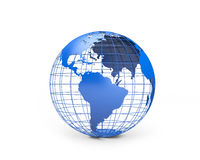 Conceptual globe Stock Photography