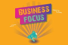 Free Conceptual Hand Writing Showing Business Focus. Business Photo Text Serving The Needs Of The Client Full Attention On Details Royalty Free Stock Image - 125639486