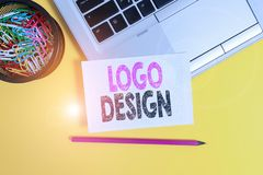 Conceptual hand writing showing Logo Design. Business photo text a graphic representation or symbol of company name or