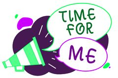 Free Conceptual Hand Writing Showing Time For Me. Business Photo Text I Will Take A Moment To Be With Myself Meditate Relax Happiness L Royalty Free Stock Images - 123892349
