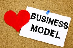 Conceptual hand writing text caption inspiration showing Business Model concept for Digital Marketing Management Strategy and Love Stock Photo