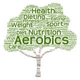 Conceptual health or diet tree word cloud. Conceptual health diet or nutrition tree word cloud isolated on background Stock Image