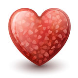 Conceptual heart symbol Royalty Free Stock Photography