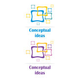 Conceptual ideas (logo) Royalty Free Stock Photo