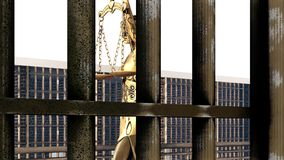Conceptual illustration on existence in prison 3d rendering. Conceptual illustration on existence in prison Royalty Free Stock Photo