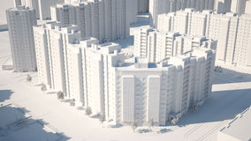Conceptual image of buildings Stock Photo