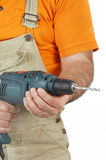 Conceptual image of a Carpenter Royalty Free Stock Image