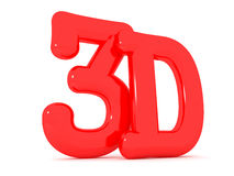 3D text Stock Image