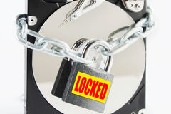 Conceptual image of information security Royalty Free Stock Photos
