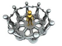 Conceptual image of Leadership Stock Photo