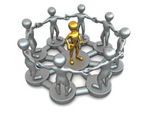 Conceptual image of Leadership Royalty Free Stock Photo