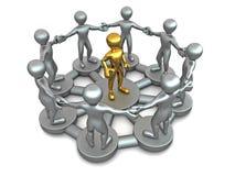 Conceptual image of Leadership Royalty Free Stock Photo