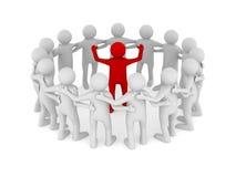 Conceptual image of leadership Royalty Free Stock Photos