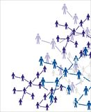 Conceptual Image Of Teamwork Royalty Free Stock Photography