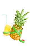 Conceptual image - pineapple diet Stock Photography