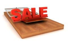 Conceptual image, sale trap. 3d image renderer Stock Photo