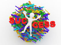 Conceptual image of success Royalty Free Stock Images