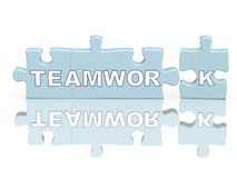 Conceptual image - success of command work Stock Photo