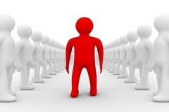 Conceptual image of teamwork Stock Photo