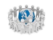 Conceptual image of teamwork Royalty Free Stock Photos