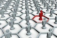 Conceptual image of teamwork. Stock Photography