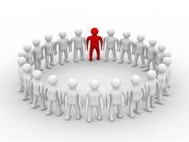 Conceptual image of teamwork. Royalty Free Stock Photo