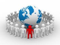 Conceptual image of teamwork Stock Photography