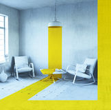 Conceptual interior Stock Images