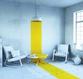 Conceptual interior Royalty Free Stock Photos