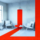 Conceptual interior Royalty Free Stock Images