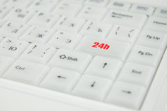 Conceptual keyboard inscription Stock Photo