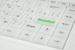 Conceptual keyboard inscription Stock Images