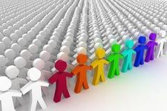 Conceptual leadership concept. Royalty Free Stock Photography