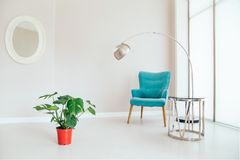 Interior of living room. stock images