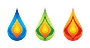 Conceptual logo design Royalty Free Stock Photo