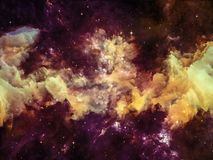 Conceptual Nebula Royalty Free Stock Photo