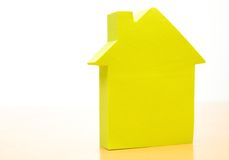 Conceptual paper house Royalty Free Stock Photos