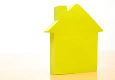 Conceptual paper house Royalty Free Stock Photos