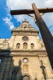 Conceptual photo Bernardine Church in Lviv. Ukraine. Royalty Free Stock Photo