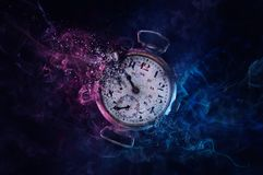 No time left stock image