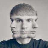 Conceptual photo of a guy Stock Photography