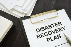 Free Conceptual Photo Showing Printed Text Disaster Recovery Plan Royalty Free Stock Photo - 161334865