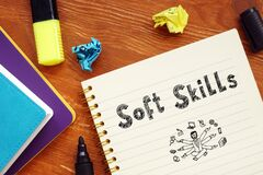 Conceptual photo about Soft Skills with written phrase